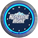 Neonetics Keystone Light Beer Neon Clock