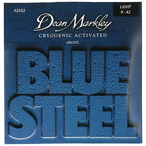 Dean Markley Blue Steel Electric Guitar Strings, 9-42, 2552, Light
