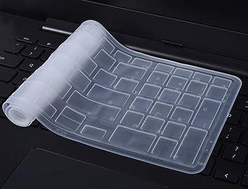 CASEBuy teclado de silicona protector de pantalla Skin para Dell Inspiron 15 3000 5000 i3541 15
