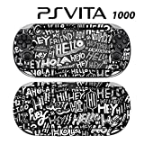 Skin Decal Cover Sticker for Sony PlayStation PS Vita (PCH-1000) - Say Hello Pattern