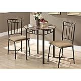 Amazon Com Hollywood Swank 9 Piece Trestle Dining Table