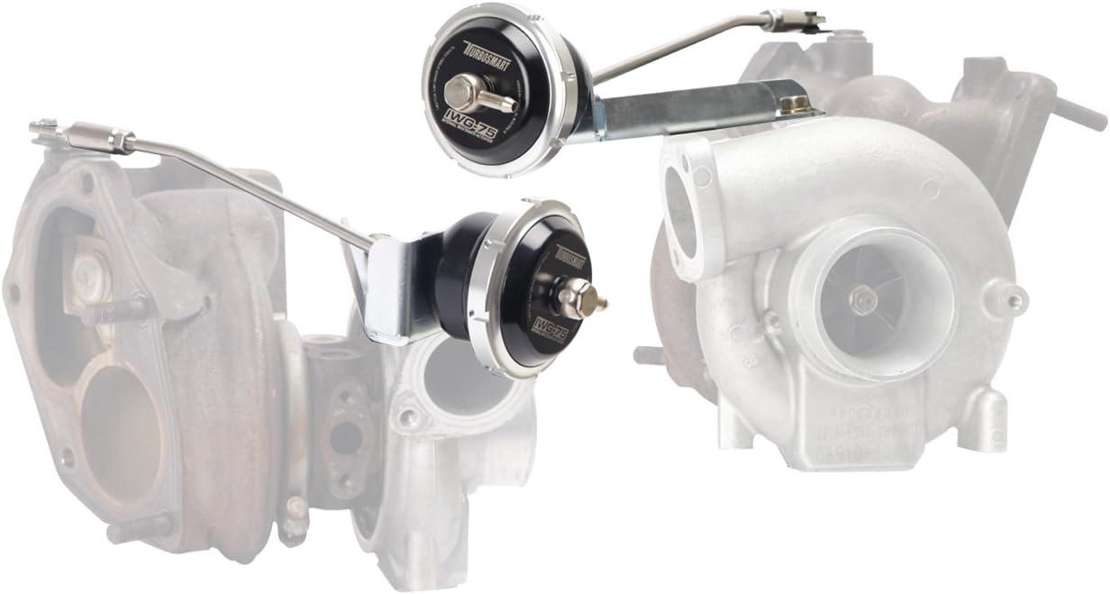 Turbosmart TS-0601-1182 Black 18 PSI Internal Wastegate Actuator for Mitsubishi Evo