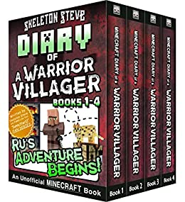 Diary of a Minecraft Warrior Villager - Box Set 1 - Rus Adventure Begins (Books 1-4): Unofficial Minecraft Books for Kids, Teens, & Nerds - Adventure ...