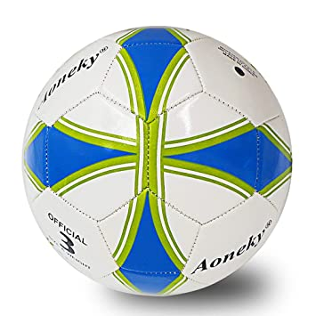 Kids Size 5 Soccer Ball - Portable Leather Inflatable Deflated Childrens  Little Child Girls Boys Best 98beb8d157a77