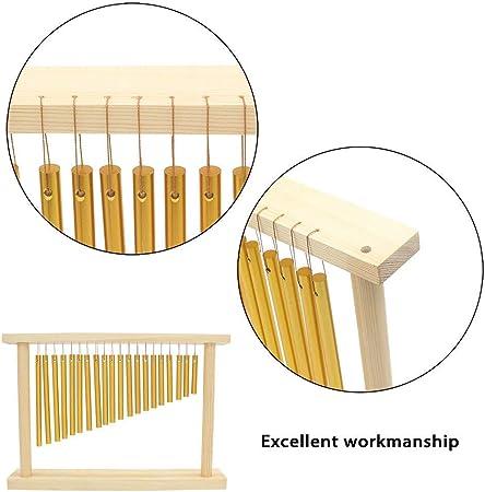 20 barras de percusión campanillas – 20 tonos barra superior ...