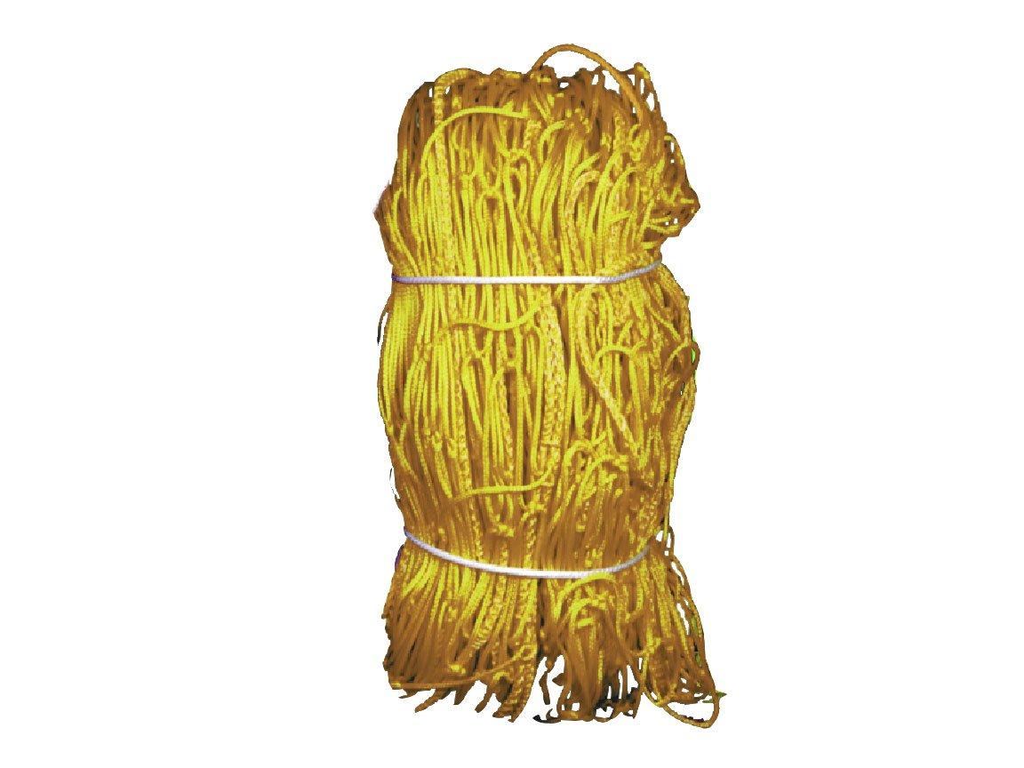 Kwik Goal 3mm Twisted Net (Yellow, 8-Feet X 24-Feet W X 3-Feet D X 8-Feet B)