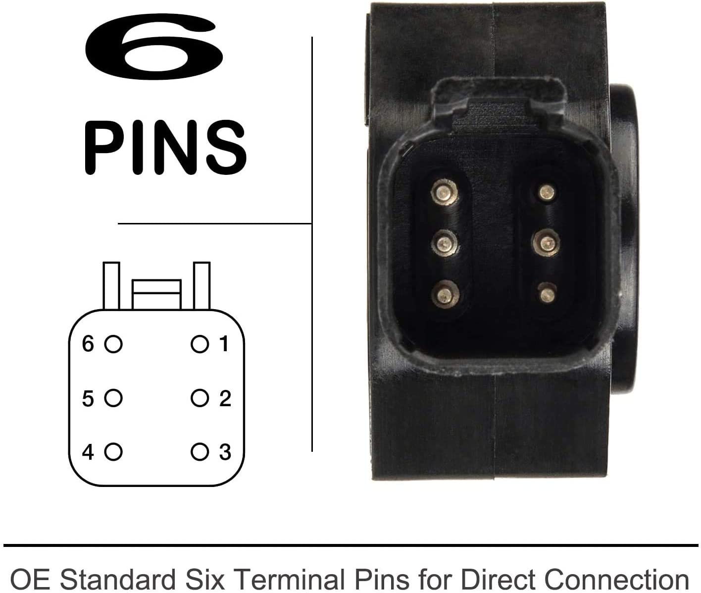 98-04 Cummins Diesel 5.9L TPS347 1998-2004 Dodge Ram 2500 Throttle Position Sensor TPS Replaces OE# AP63427 3500 53031575 Accelerator Pedal Position Sensor APPS 56028184AB