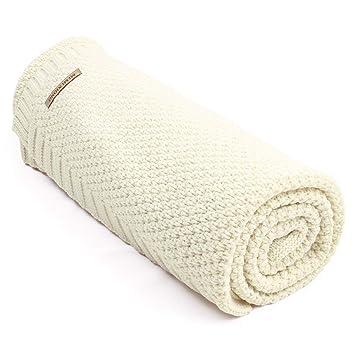 Amazon.com: Anclle Manta de bebé celular, doble tejido ...