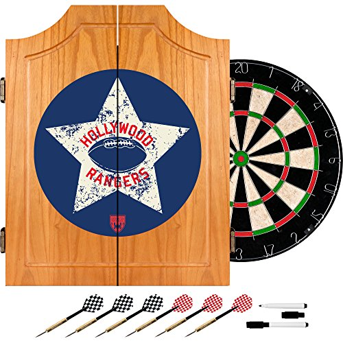 VAF Hollywood Rangers Wood Dart Cabinet Set by VAF