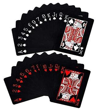 MUXItrade 54pcs Tarjeta de Juego de Cartas de Poker de ...