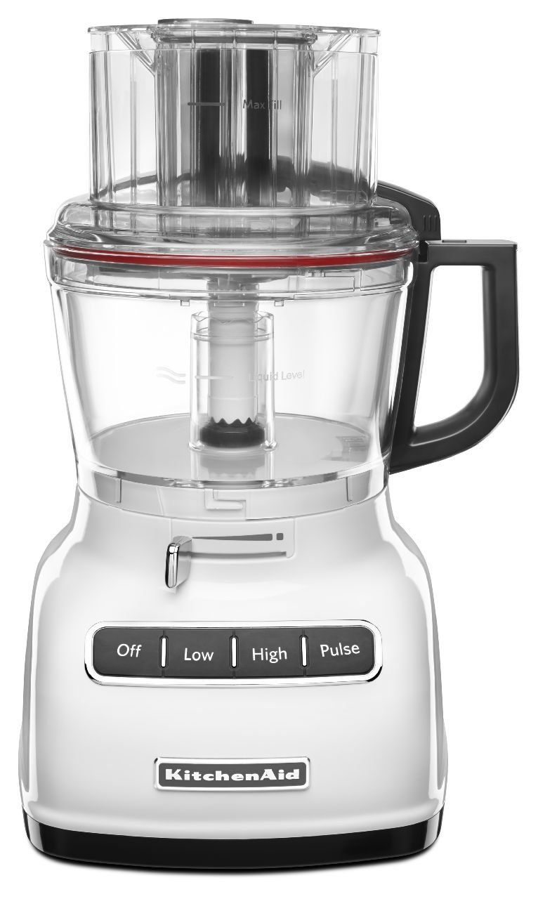 Great Amazon.com: KitchenAid KFP0930WH 9 Cup Food Processor With Exact Slice  System And French Fry Disc   White: Kitchen U0026 Dining