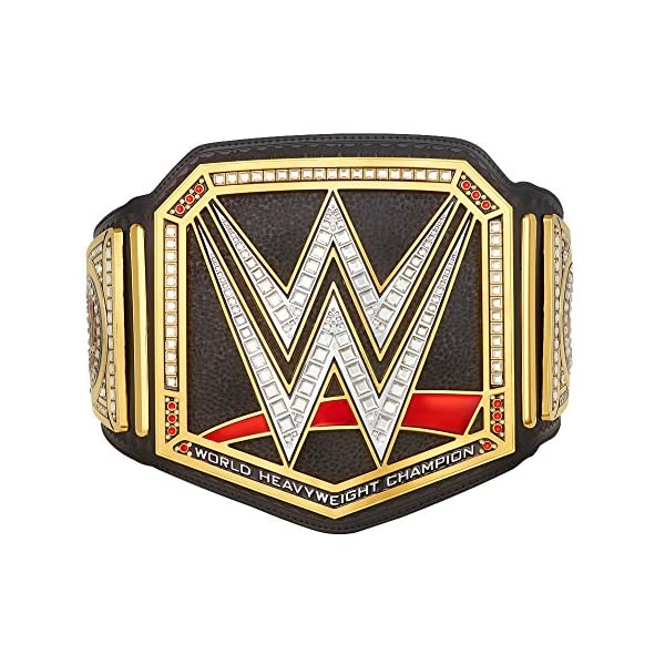 WWE-Authentic-Wear-Unisex-WWE-World-Heavyweight-Championship-Commemorative-Title-Belt-2014-Multicoloured-One-size