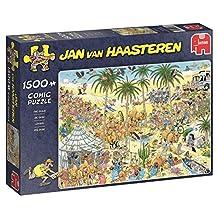 Jan van Haasteren The Oasis Jigsaw Puzzle (1500-Piece)