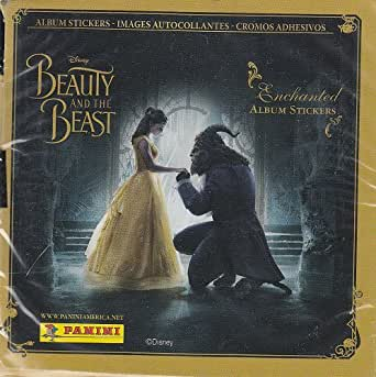 Beauty and the Beast (movie) Album Sticker Box [50 packs]