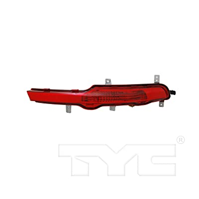 TYC 17-0306-00-1 Compatible with Kia Sportage Left Replacement Reflex Reflector: Automotive