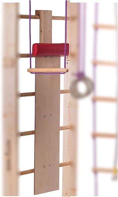 RINAGYM Slide con Almohadilla Suave para Escalera Sueca, Banco de Madera para Barra de Pared: Amazon.es: Deportes y aire libre