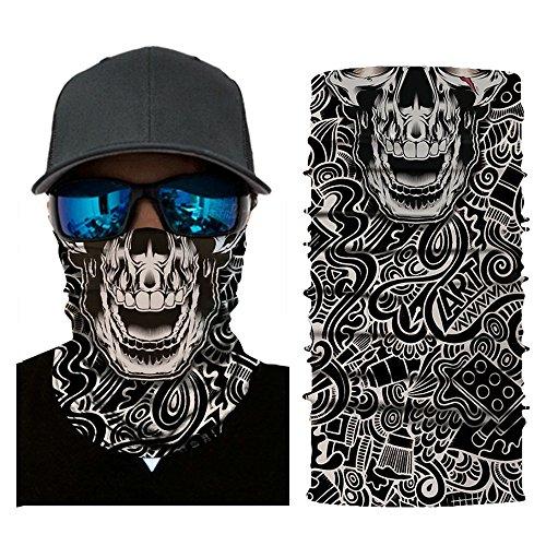 HANANei Clearance Sale Cycling Motorcycle Head Scarf Neck Warmer Face Mask Ski Balaclava Headband (A) -