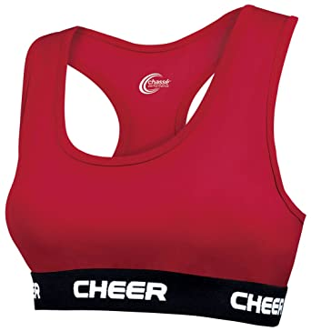 youth cheer sports bras