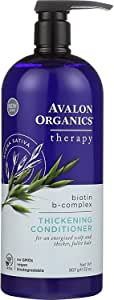 Avalon Organics Biotin B-Complex Thickening Conditioner, 32 oz.