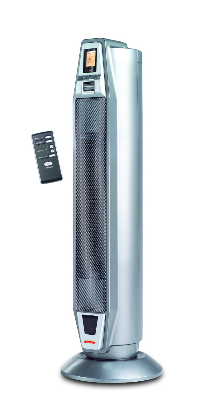 VV20 Portable Electric Tower Fan Heater