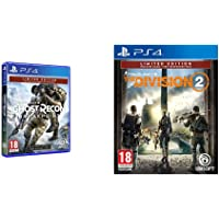 Ghost Recon Breakpoint - Limited [Esclusiva Amazon] + The Division 2 - Limited [Esclusiva Amazon], PlayStation 4