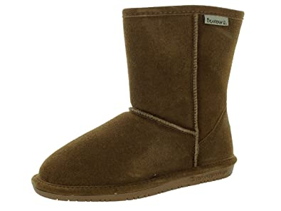BEARPAW Girls Emma Youth Shearling Boots 608Y 2 Hickory