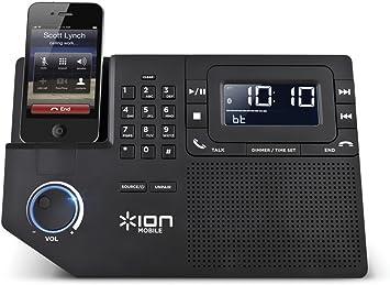 Ion Teléfono estación plus | estación de altavoz Bluetooth para ...