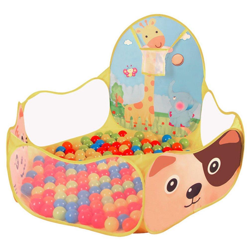 Da.Wa Kinder Aufbewahrungstasche Spielzeug Beweglicher Kinder Baby Bä llebad Ballpool Pool Bä llepool Drinnen fü r Kindergeschenke, 120 * 120 cm