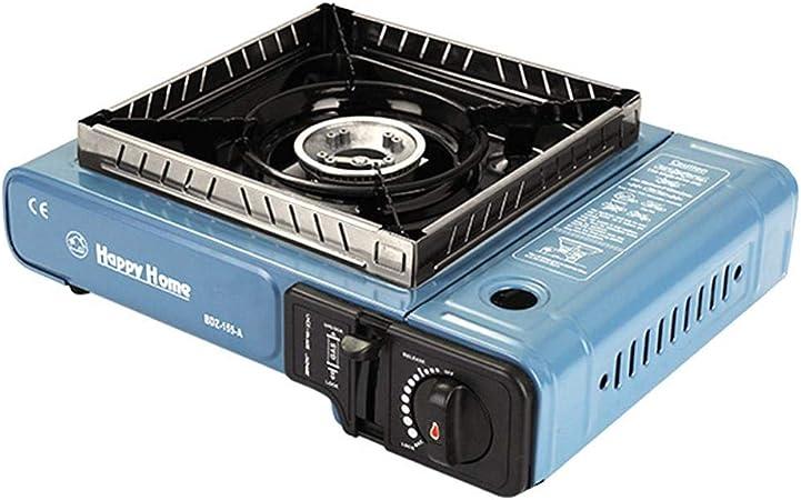 Ardentity Camping Gas Recaud 1 fuego, aluminio - Hornillo de camping con cartucho de 2900 W, Hornillo exterior compacto, cocina de gas portátil
