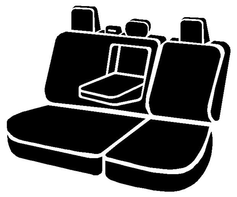 Fia OE32-44 CHARC Custom Fit Rear Seat Cover Split Seat 40//60 Tweed Charcoal