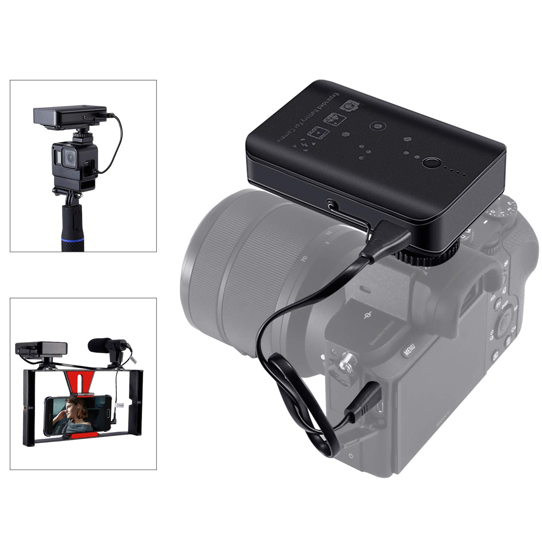 Gopro 5/6/7/2018用ポータブルカメラサプライ カメラバッテリー交換用 NP-FW50バッテリー NP-FZ100 スマートフォンおよびその他の電子機器用パワーバンク B07NWLK432