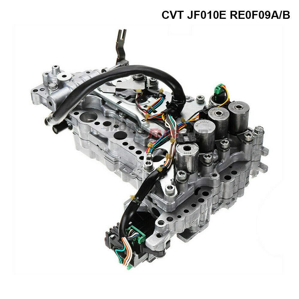 MotorFansClub Valve Body CVT Transmission RE0F09A/B JF010E for Nissan Murano Maxima Quest US Stock