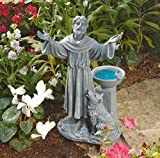 New 19-in St. Francis's Garden Blessing Outdoor Yard Garden Statue Sculpture ,product_by: phoenixonlinemall it#88181971500802