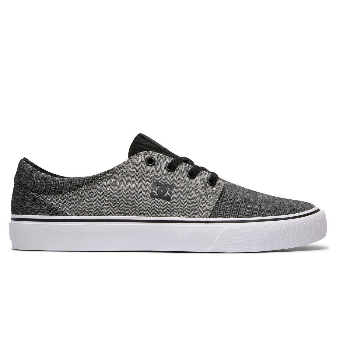 DC Shoes Trase, Zapatillas para Niños, Gris (Grey), 37 EU