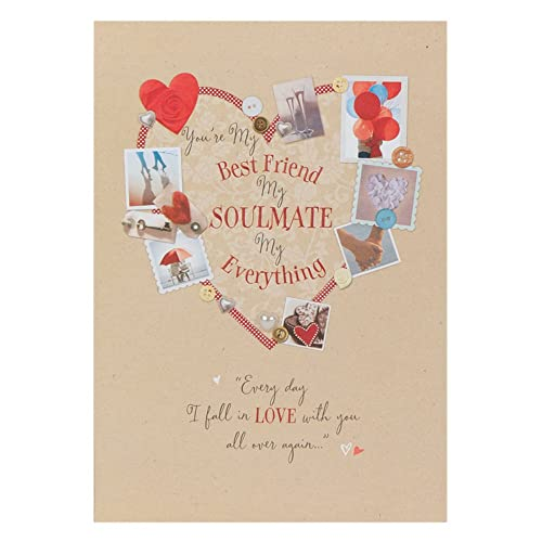 White Cotton Cards Wb171 To The One I Love Birthday Card Handmade