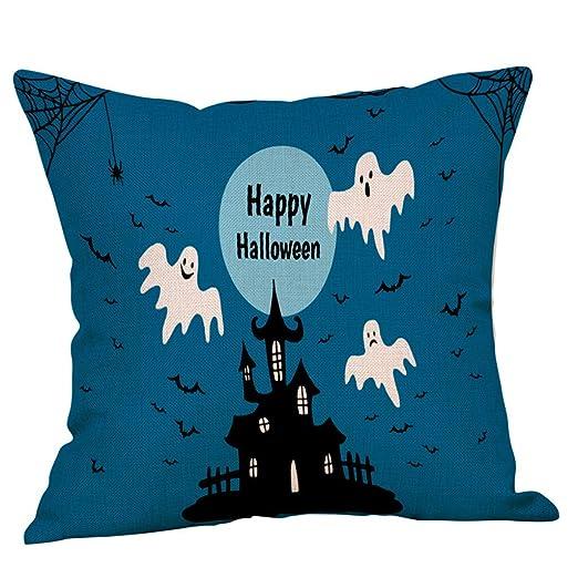 K-youth Fundas de cojínes para Sofa Vintage Halloween ...