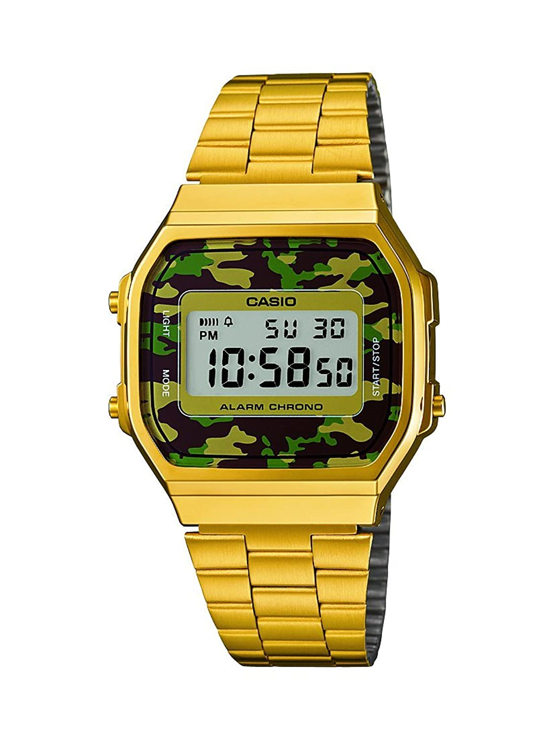 Casio Collection Reloj Digital Unisex con Correa de Acero Inoxidable – AWEGC