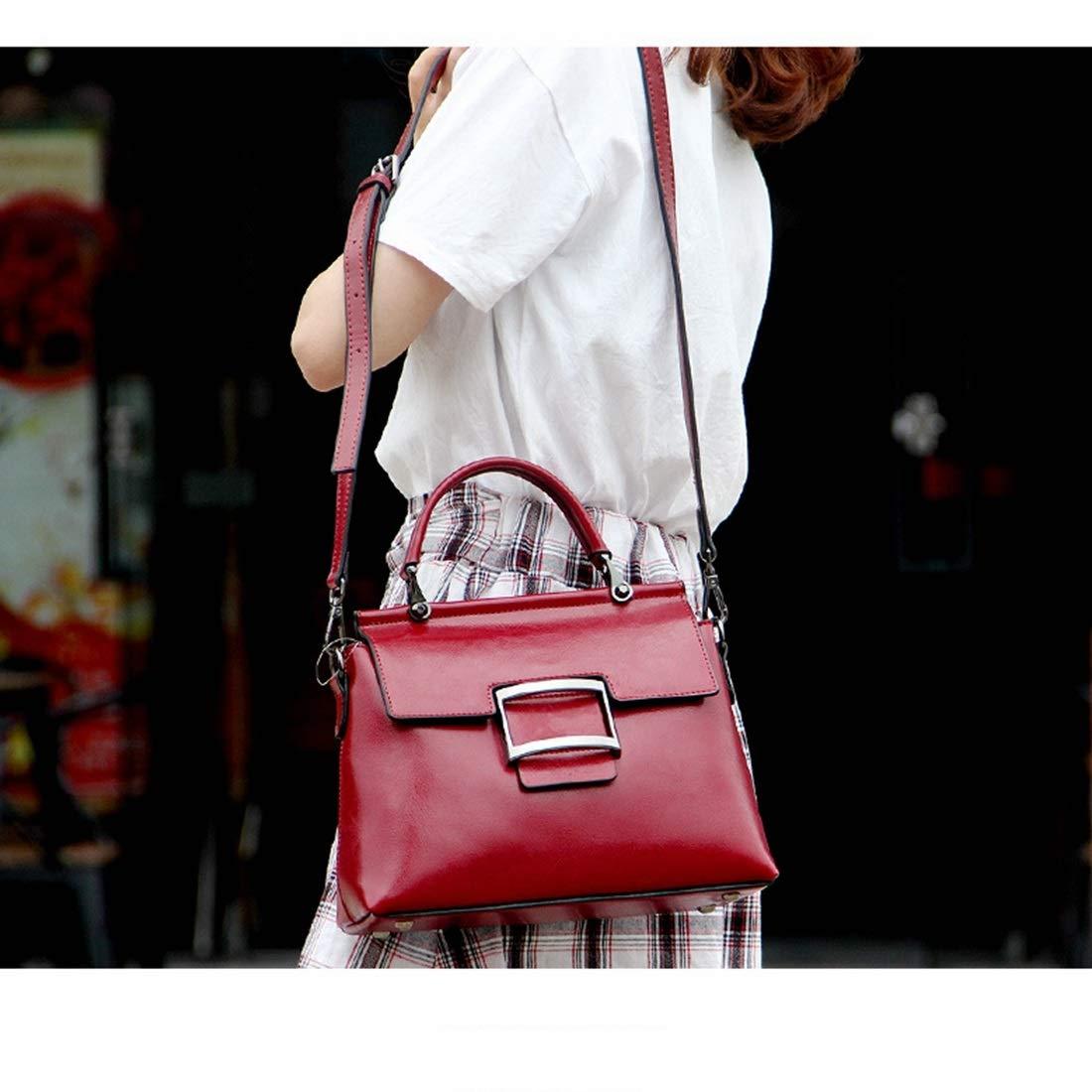 AIYAMAYA Womens Leather Handbags Ladies Purses Satchel Shoulder Bags Tote Bag