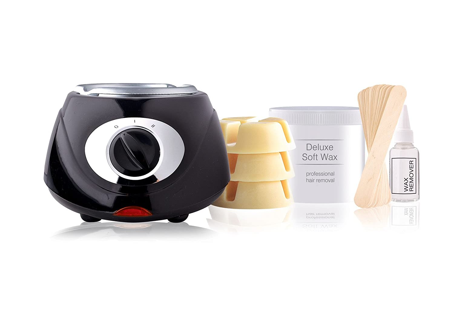 Rio Beauty Total Body Waxing Hair Removal Kit 5019487083272 CWAX Shaving & Hair Removal Body hair