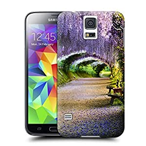 Xuey Kawachi Fuji Wisteria Garden Japan for Samsung Galaxy S5 Case- Unique design allows easy access to all buttons, controls and ports