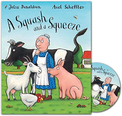 A Squash and a Squeeze Book and CD pack: Amazon.es: Donaldson ...