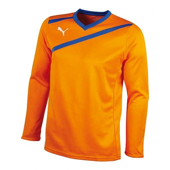 Puma Esito GK - Camiseta de portero de fútbol para hombre, naranja: Amazon.es: Deportes y aire libre