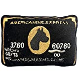 Dog Diggin Designs Squeaky Plush Toys - Credit Cards (Americanine Express Bark Card)