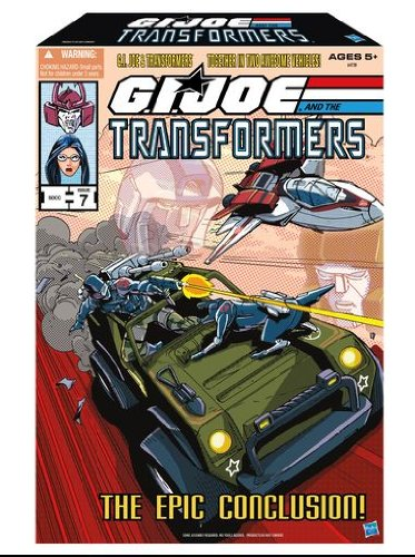 The Epic Conclusion GI Joe and Transformers SDCC 2013 ComicCon Exclusive Set