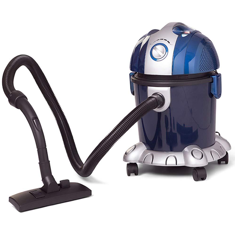 Turbo Aspirador Sólidos y Líquidos para Hogar. Aspirador Sin Bolsa Seco y Húmedo de Gran Capacidad y Potencia Regulable. Función Sopladora.