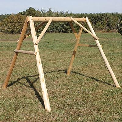 Lakeland Mills A-Frame Porch Swing