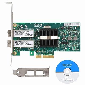 ASHATA Tarjeta de Red PCI-E, Tarjeta de Red PCI Express para ...
