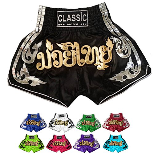 Classic Muay Thai Kick Boxing Shorts : Power of Muay Thai