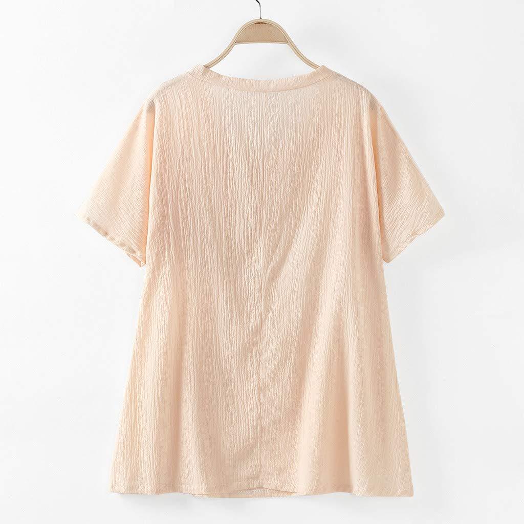 Summer Funny Fish Bone Print Shirt Women Casual Blouse V-Neck Oversize Tunic Tops Linen Antiquity Oversize Shirts
