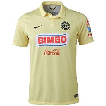 quality design 875fc 250bc Amazon.com : Nike Club America Short Sleeve Home Stadium ...